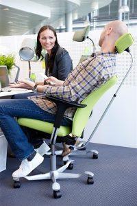 Silla HAG H05 la mejor silla ergonómica