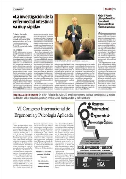 Congreso Internacional de Ergonomía