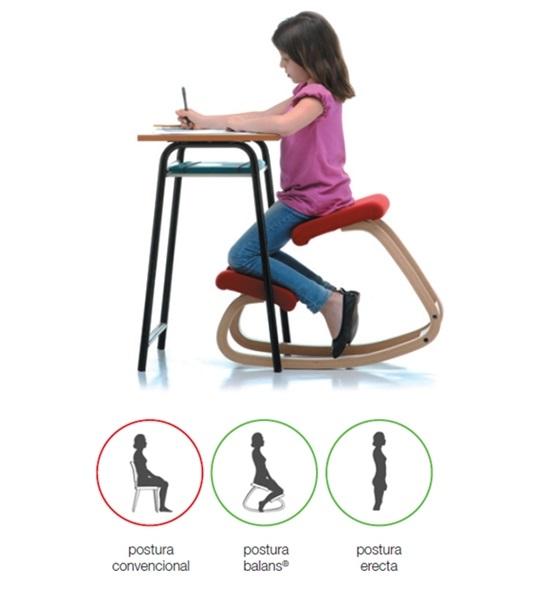 Cómo deben sentarse
